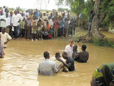 baptismal service - at the conclusion of yearly rains and the harvest