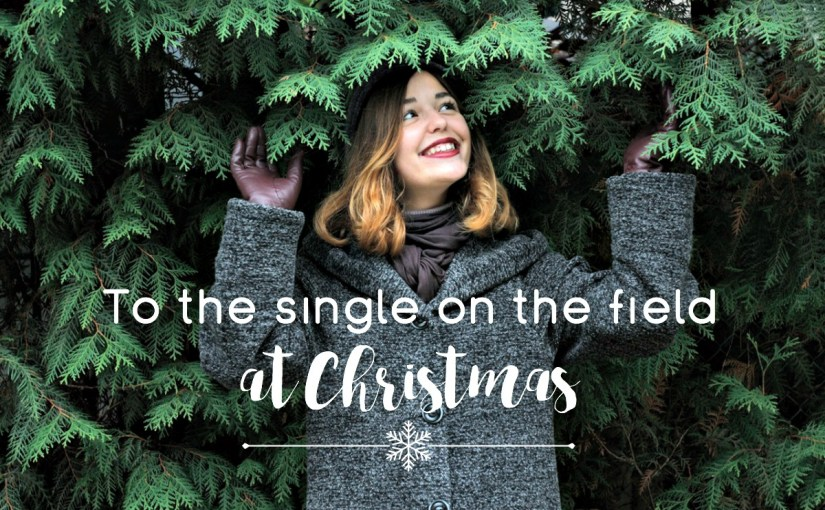 To the single on the field at Christmas