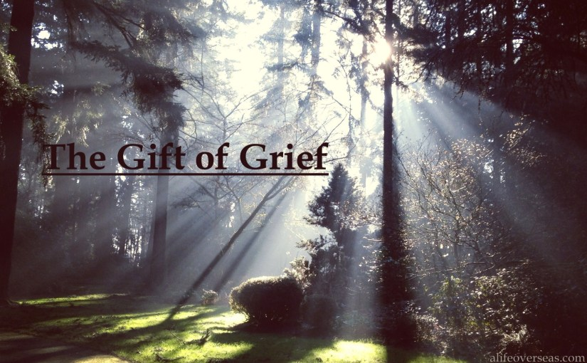 The Gift of Grief and the Thing I Heard in Portland