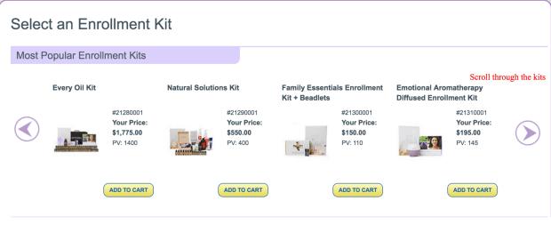 enrollment kit