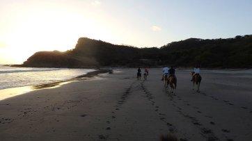 sunset horseback riding nicaragua