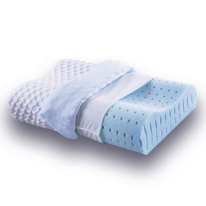 memory foam pillow for neck pain