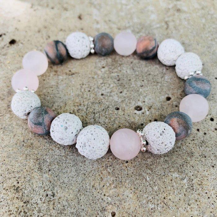lava-stone-rhodonite-rose-quartz