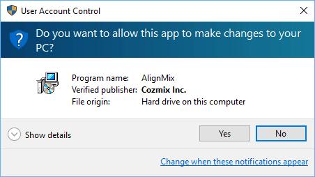 AlignMix Digital Signature Prompt