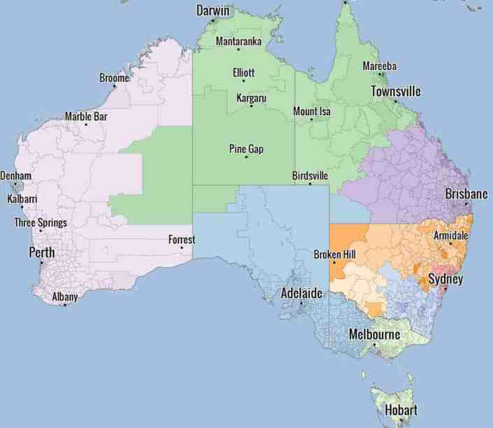Australia HotSpot View