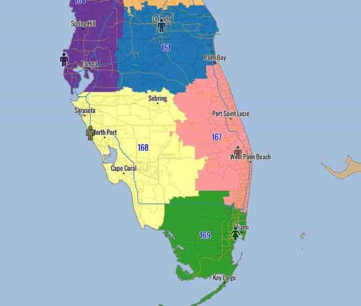 Sales Territory Alignment of Florida