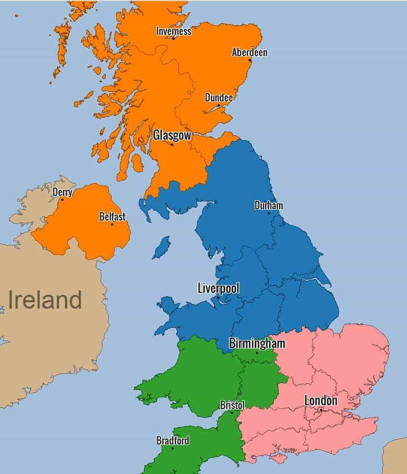 UK District View