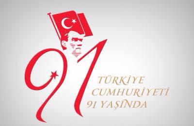 cumhuriyet-bayrami  Türkiye Cumhuriyeti 91 Yaşında cumhuriyet bayrami