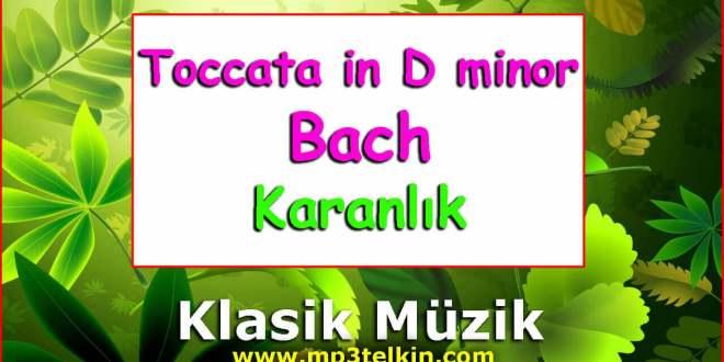 Toccata in D minor Bach #Müzik