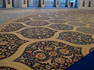 Sultan Qaboos Grand Mosque in Muscat -  Oman (carpet)