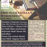 RamADHAN WORKSHOP