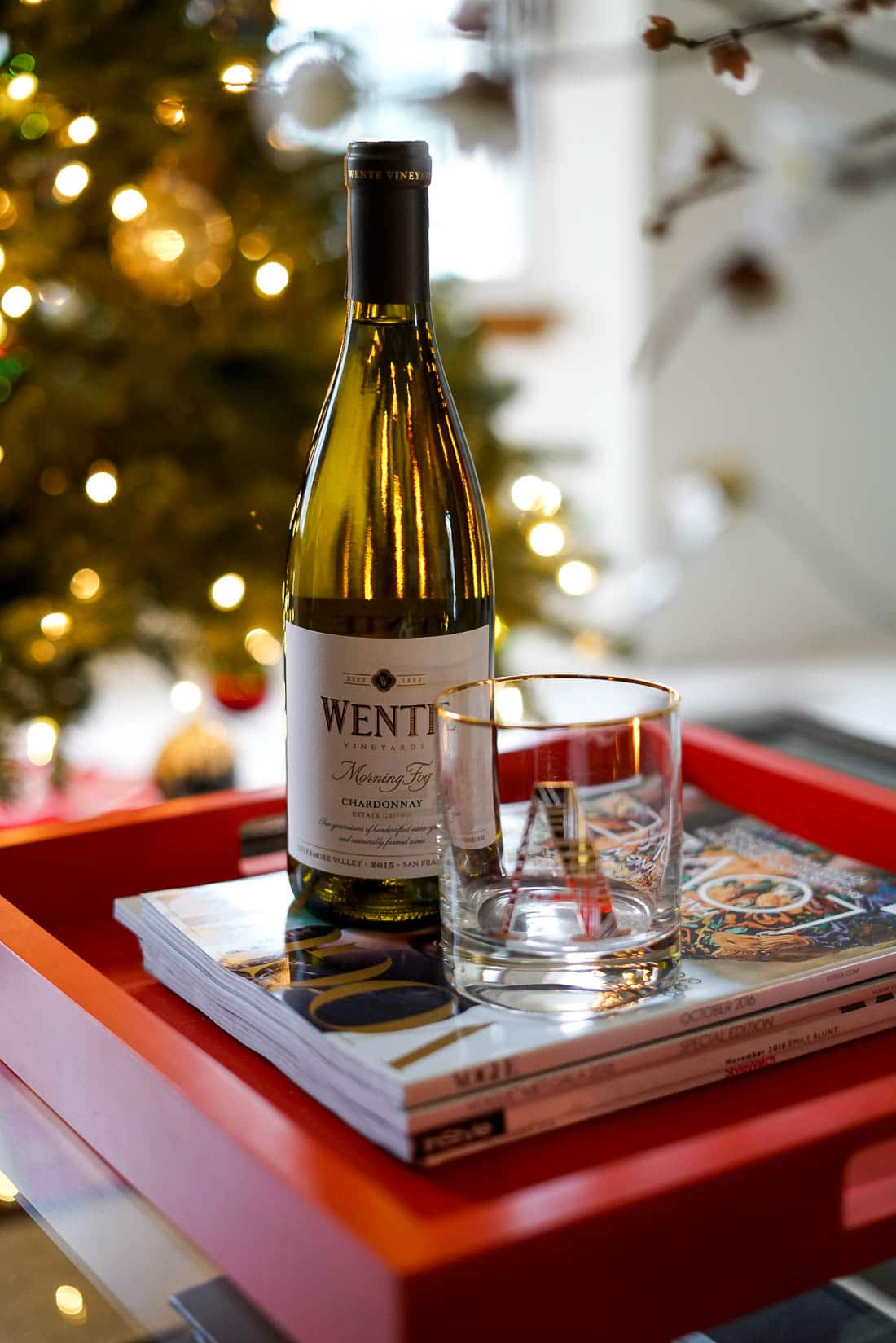 holiday traditions with Wente Wines, christmas traditions, holiday decor, chicago blogger