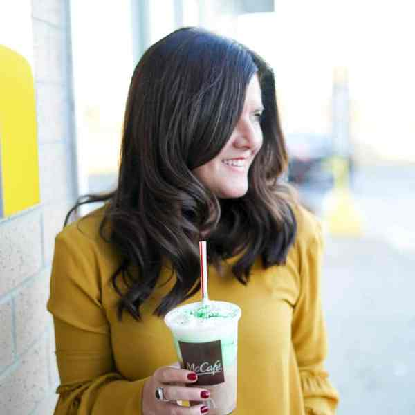 Shamrock Shake Season with McDonald's, McDonald's Shamrock Shake, Chicago Fashion Blogger, A Lily Love Affair