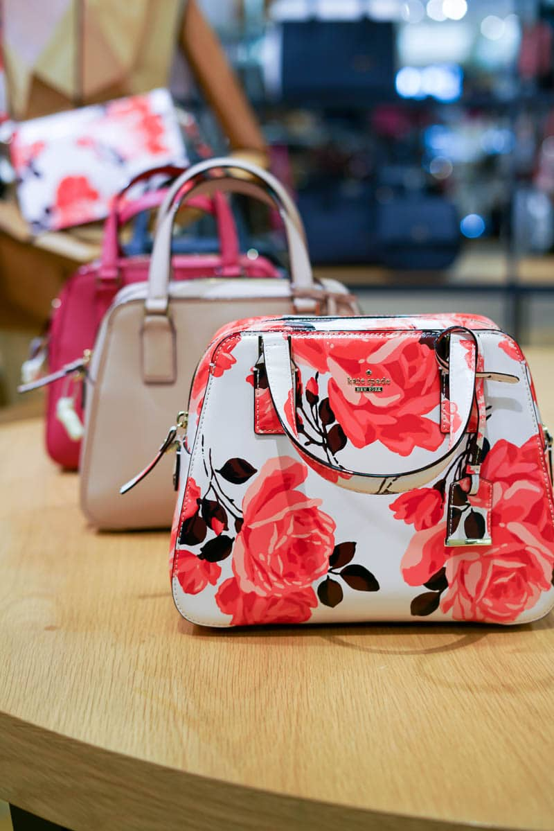 Valentine's Day, Gifts for Her, Woodfield Mall, Chicago Blogger, A Lily Love Affair, Kate Spade Floral Satchel