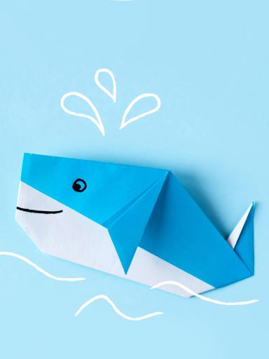 Origami- Baleia