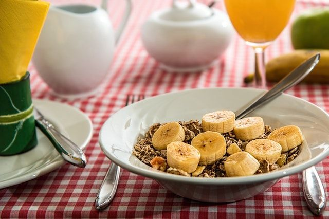 cereal integral porcion sana