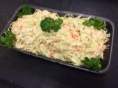 Salade de chou à la vinaigrette ou crémeuse