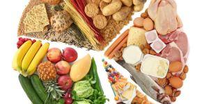 Alimentos de una dieta sana