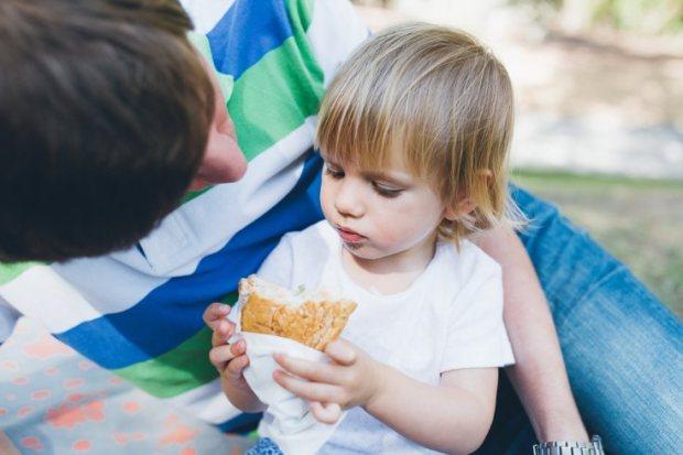 comer sobras hijos