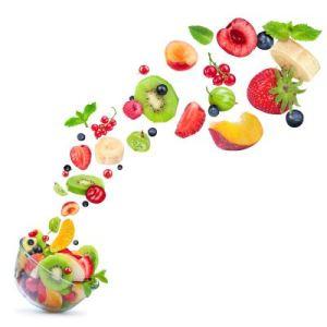 fruta sana y saludable