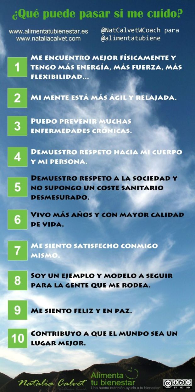 10 motivos para cuidarte cada día