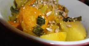 Receta de estofado de verduras
