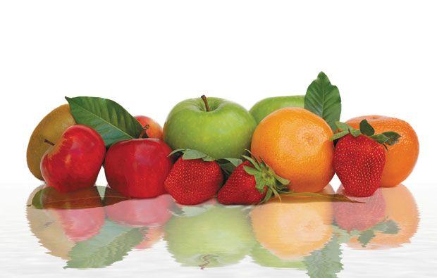 Para mantenerse en forma, frutas y verduras