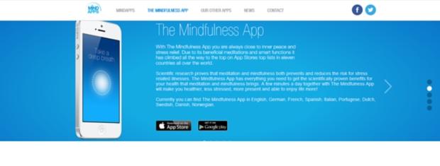 apps de salud y bienestar - mindfulness