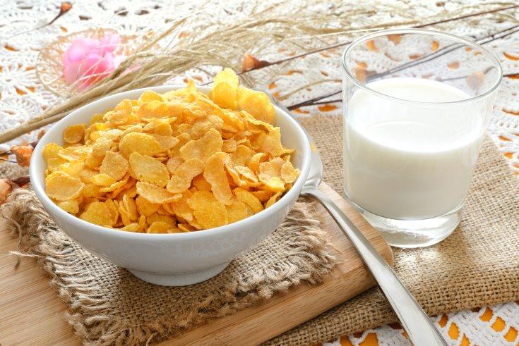 mejores cereales integrales - copos de maíz