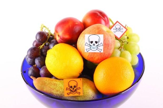 contaminación química de los alimentos