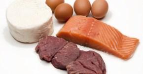 Proteínas animales: carne, pescado, huevos y lácteos