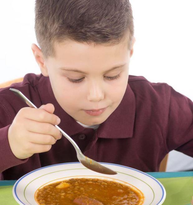 Alimentos importantes para el crecimiento de niños