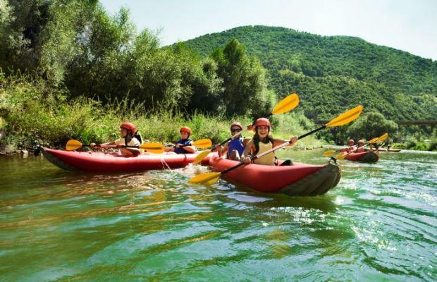 deportes para el verano piragüismo