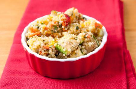 Recetas de proteínas vegetales con quinoa