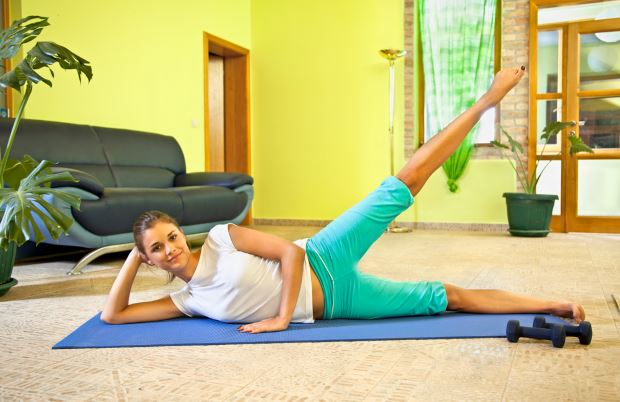 rutina de ejercicios en casa