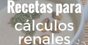 Recetas para cálculos renales