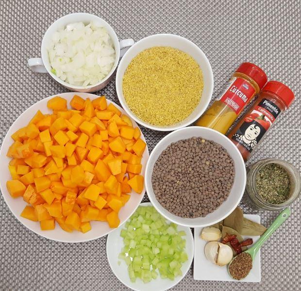 Guiso de lentejas ingredientes