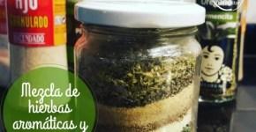 mezcla de hierbas aromáticas y especias