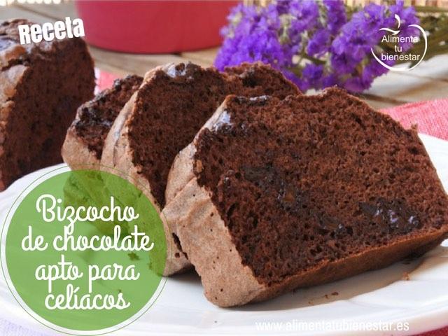 Bizcocho de chocolate Receta apta para celiacos