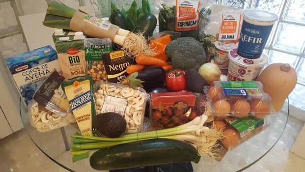 Lista de la compra saludable