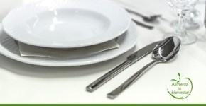 Protocolo en la mesa: colocación de elementos en la mesa