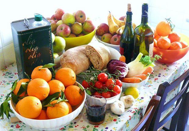 Dieta mediterranea para la aterosclerosis