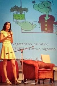 Annarita Aiuto al Mujaveg festival vegano vegetariano Muggia Trieste 2