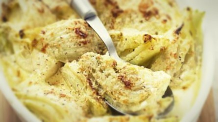 Finocchi gratinati vegan – ricetta