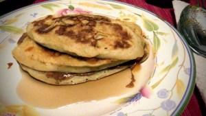 banana pancake ricetta annarita aiuto 2 alimentazione salutare bioenergetica