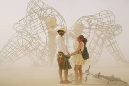 The most moving  piece of art from Burning Man