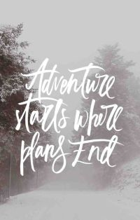 Inspirational quote of the day (with a winter-ish background) ❄️