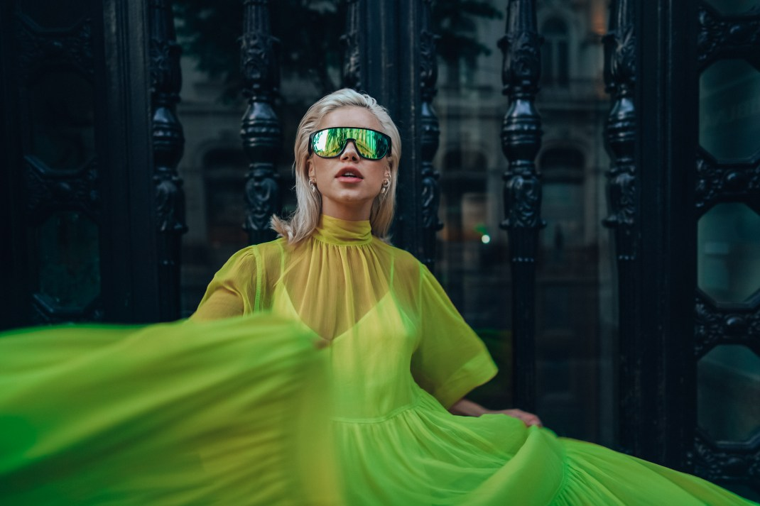SPEEDSTER MOJITO LIME GREEN DRESS