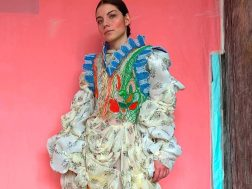 Romanian Designers – Alexandra Sipa Making Full-On Fashion out of Discarded Wires