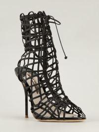 SOPHIA WEBSTER Delphine leather sandals